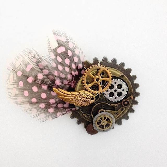 Steampunk inspired wedding jewellery workshop