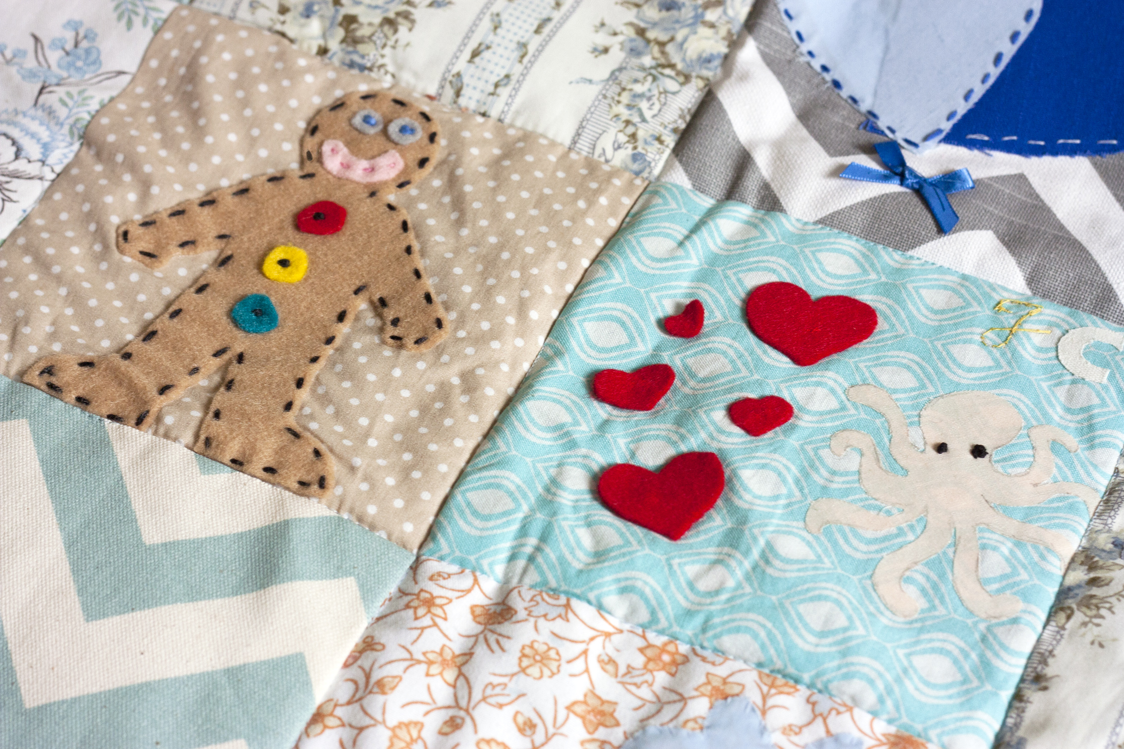 Baby Patchwork Quilt Baby Shower Class