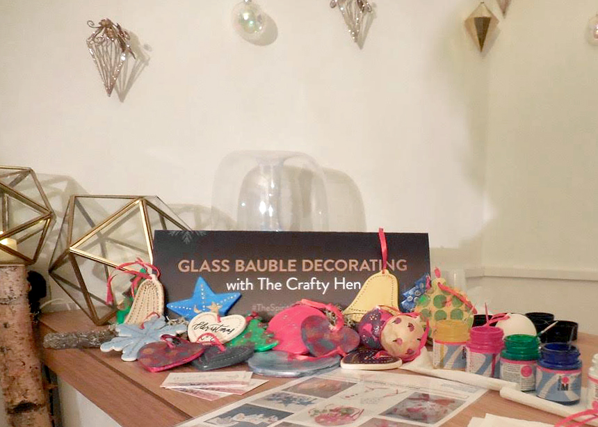 Christmas Grotto Bauble Workshop The Crafty Hen