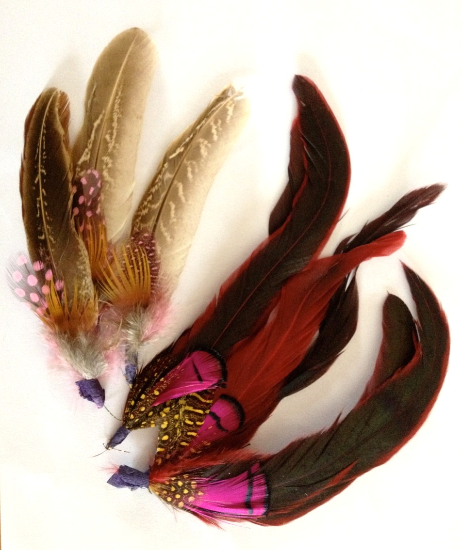 Feathers for craft hen do party workshop.jpeg