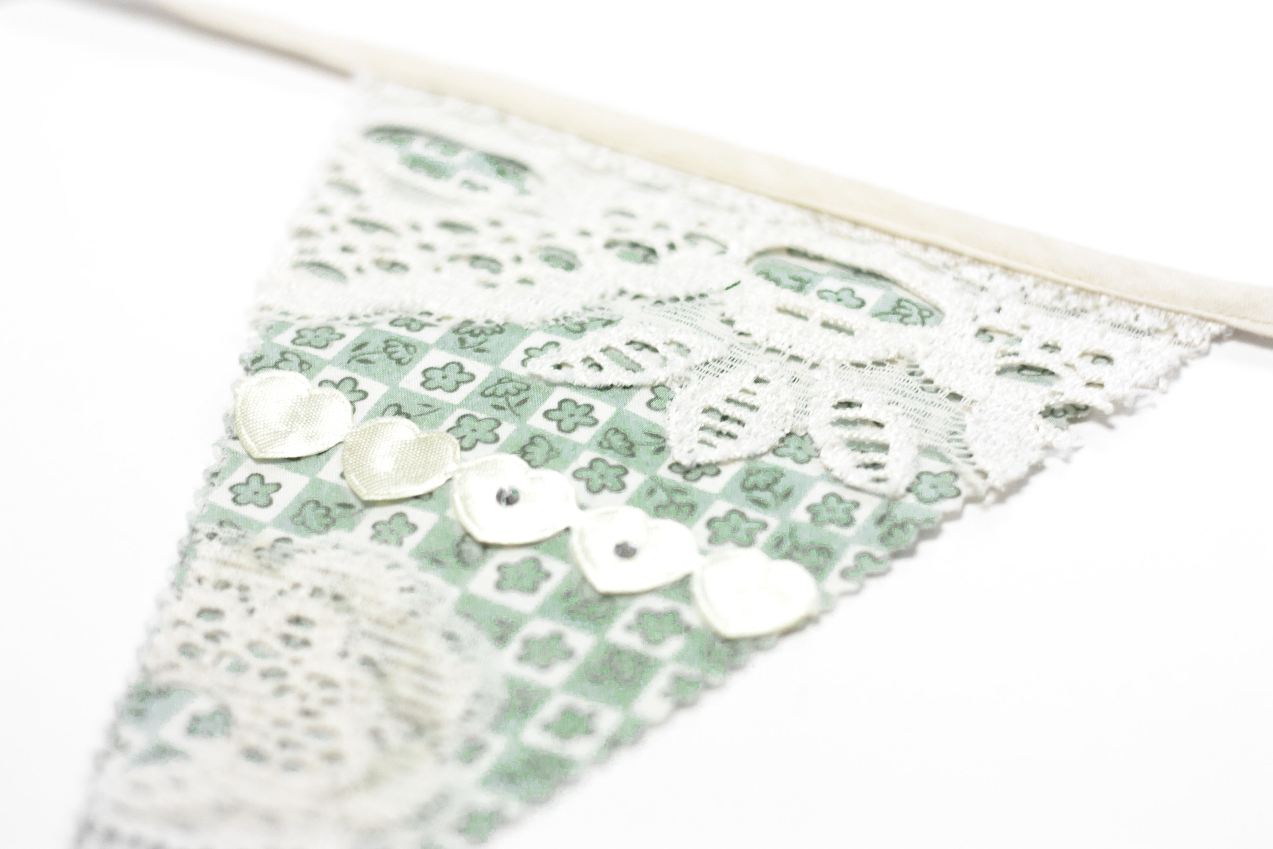 IVORY green BUNTING kit THE CRAFTY HEN.jpg