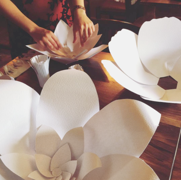 PAPER WEDDING FLOWER MAKING THE CRAFTY HEN.png