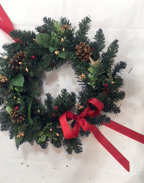 Sherwood Forest Nottinghamshire 7th Dec Wreath Making 10 copy.jpg