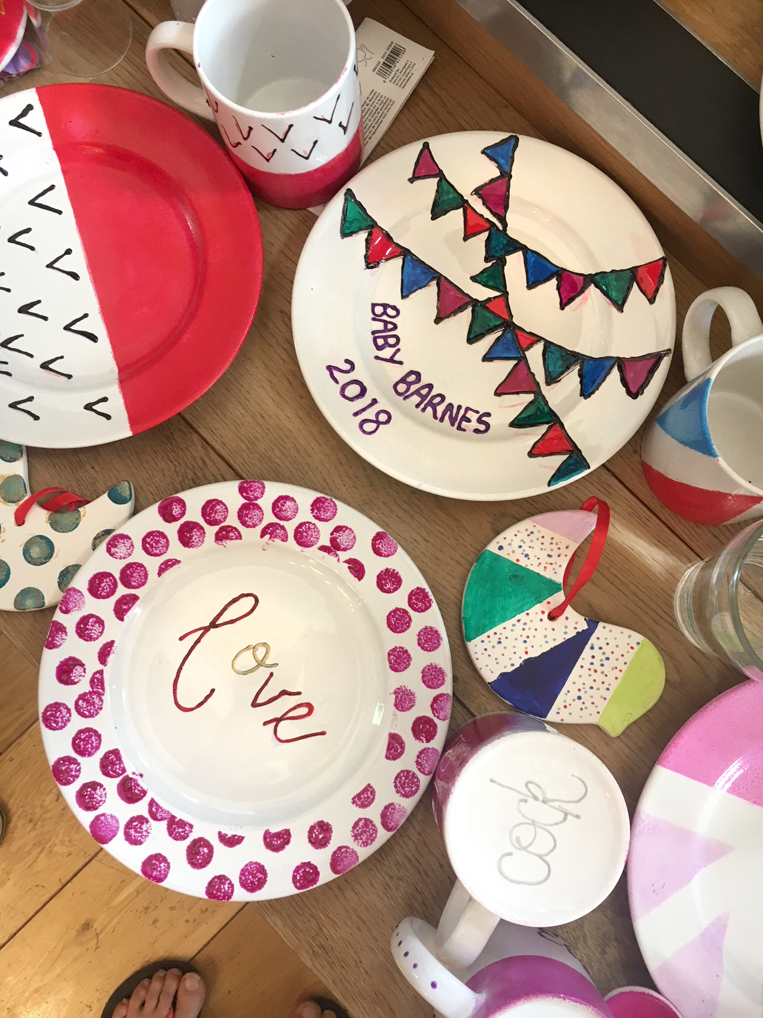 baby shower family workshop idea