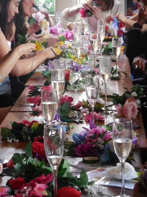 Crafts and Cocktails Flower cROWN HEN PARTY.jpg