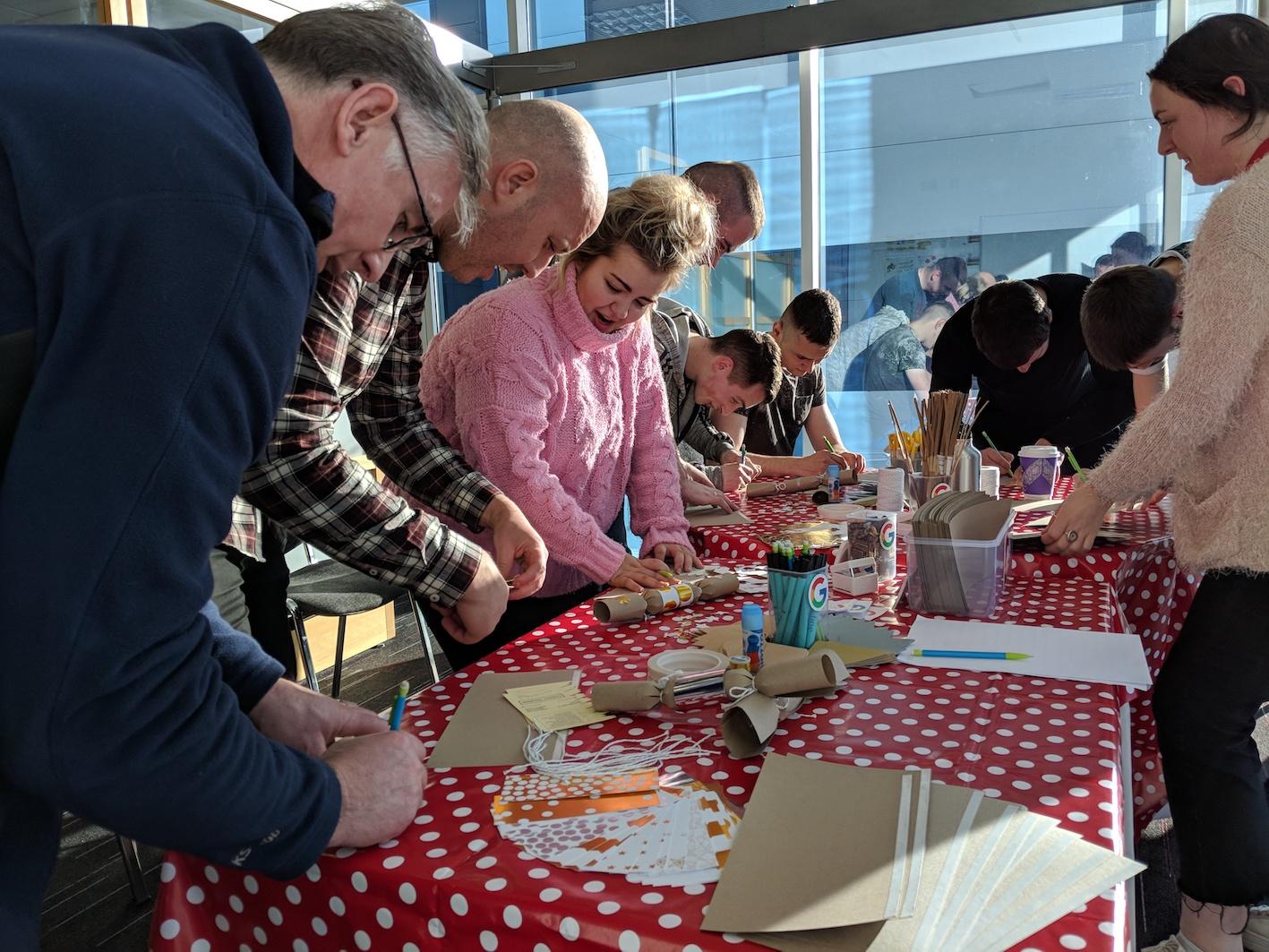Christmas Cracker Making Ireland Workshop The Crafty Hen.jpg