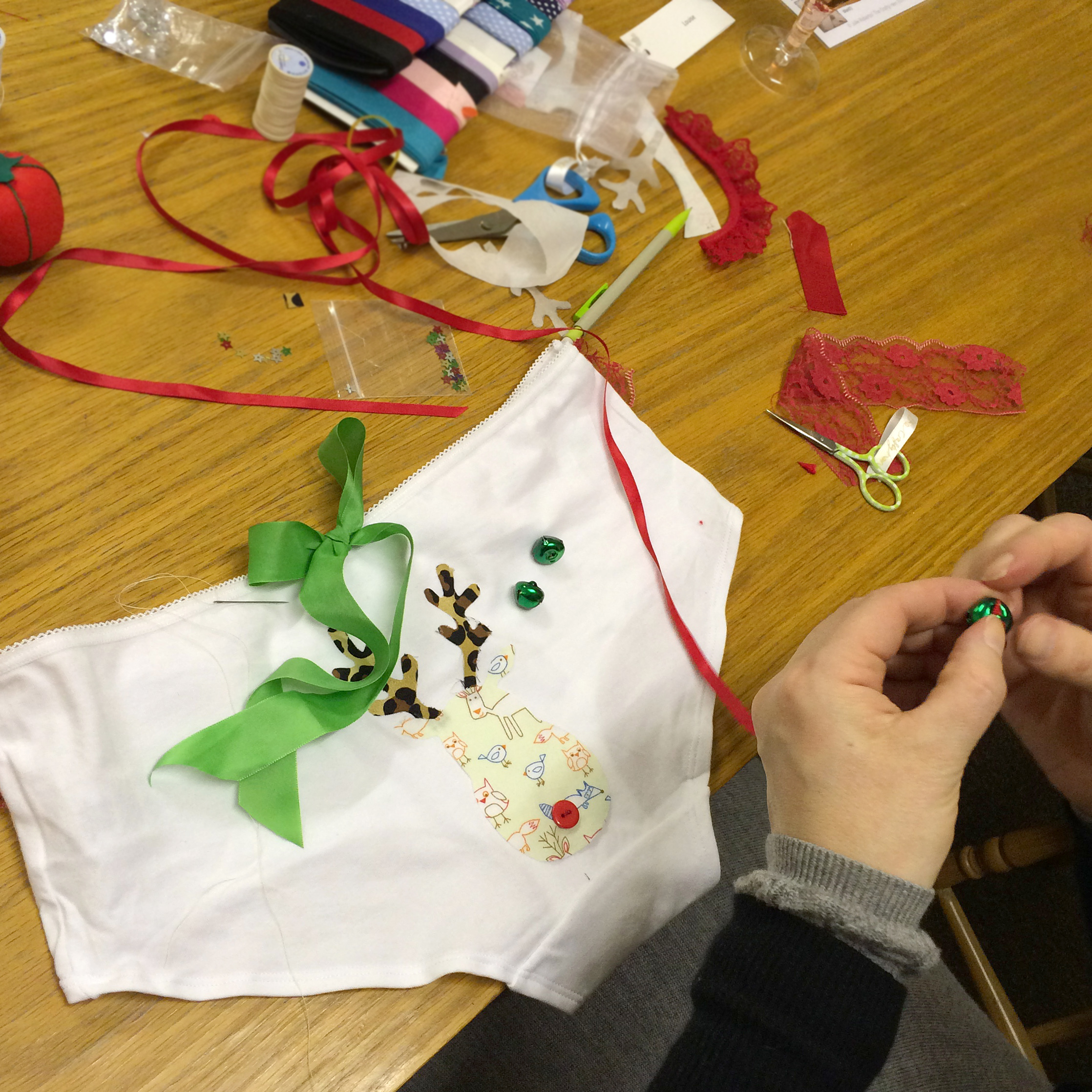 Christmas Knicker Making The Crafty Hen.jpeg