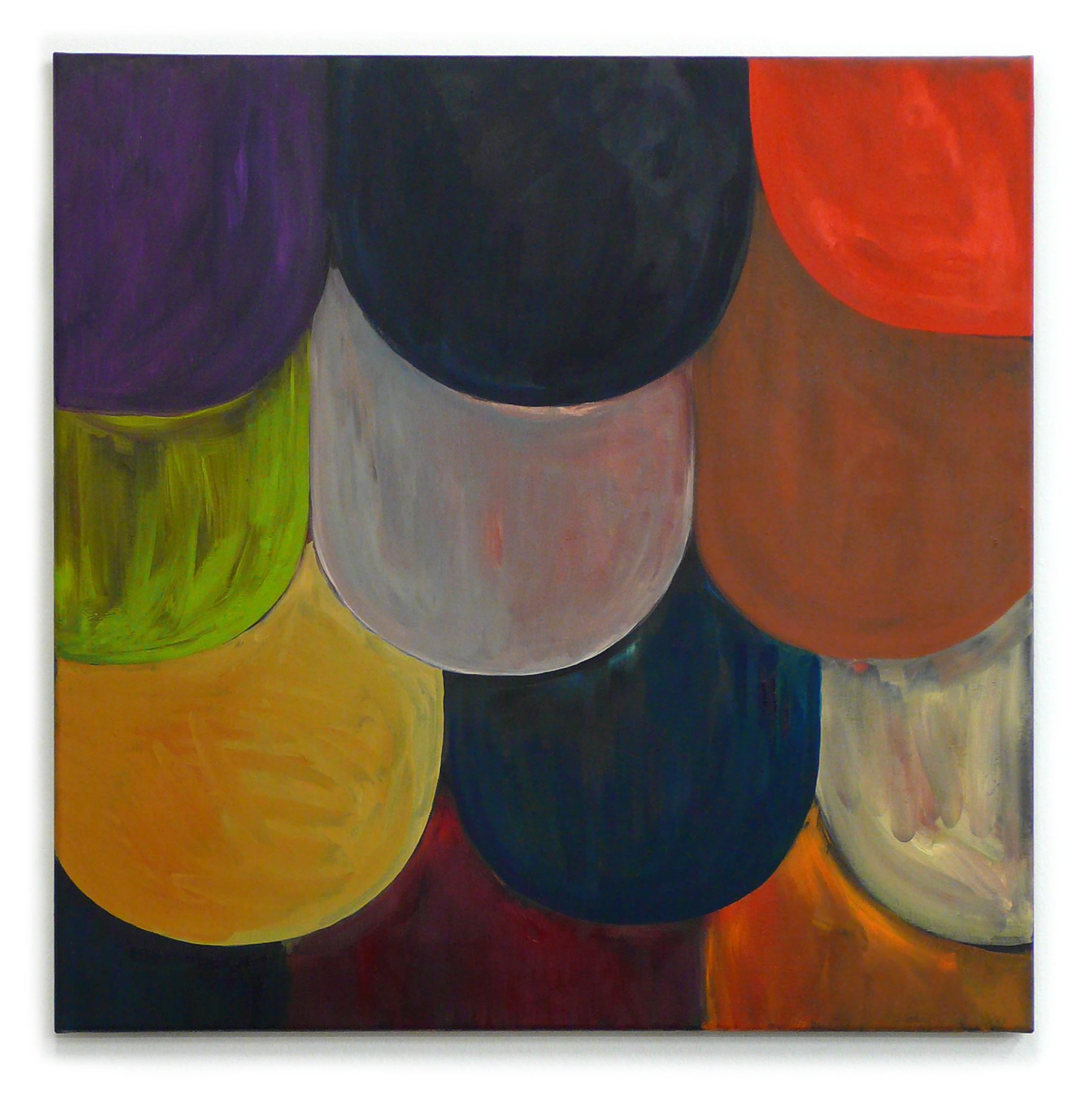 Ohne Titel, 2010 Öl auf Leinwand 75 x 75 cm
