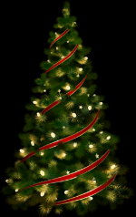 Large_Transparent_Christmas_Tree_with_Red_Ribbon_Clipart.png