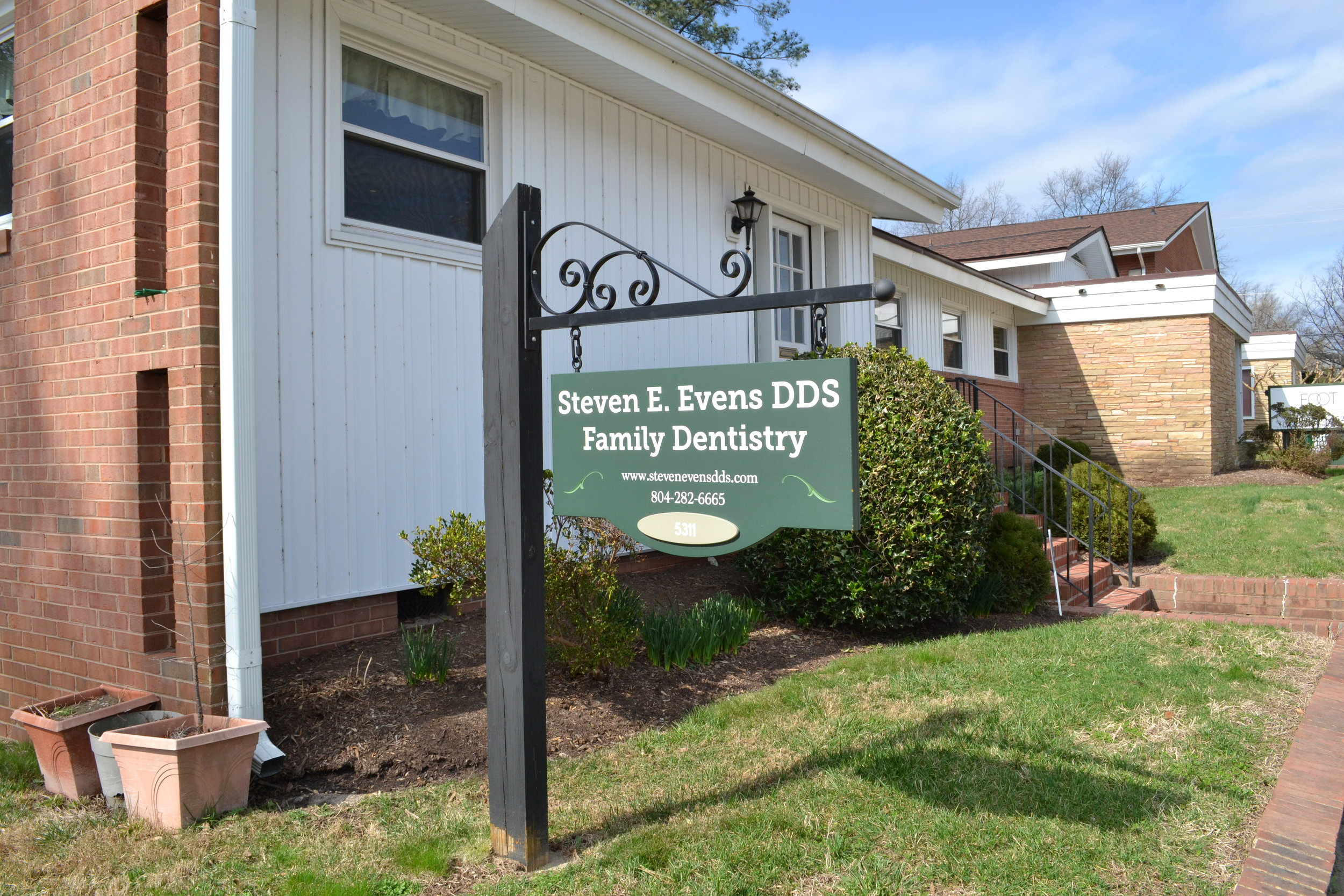 Steven E. Evens DDS Family Dentistry - 5311 Patterson Avenue, Richmond VA, 23226