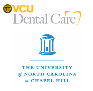 Medical College of Virginia School of Dentistry     &    University of North Carolina at Chapel Hill