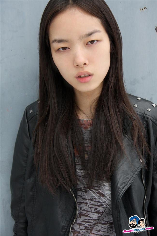 Chinese model Sun Fei Fei