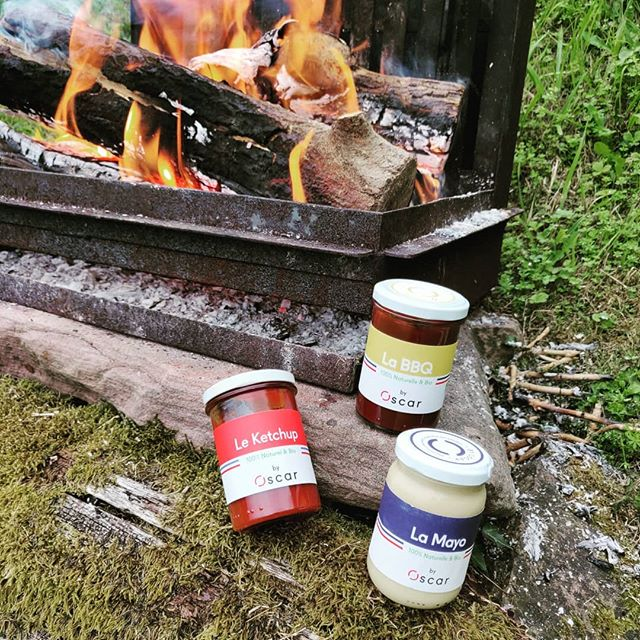 Alerte bbq 🔥🔥 A chacun sa sauce pour un barbecue de compétition avec notre gamme de sauces ultra gourmandes, 100% naturelles, bio 🌿& made in France!  #sauce #bbq #summer #mood #bio #naturelovers #madeinfrance #local #terroir #kiff #meatlover #ketchup #barbecue #mayo #mayonnaise #byoscar #foodlover #gastronomie #gourmet #food #goodfood