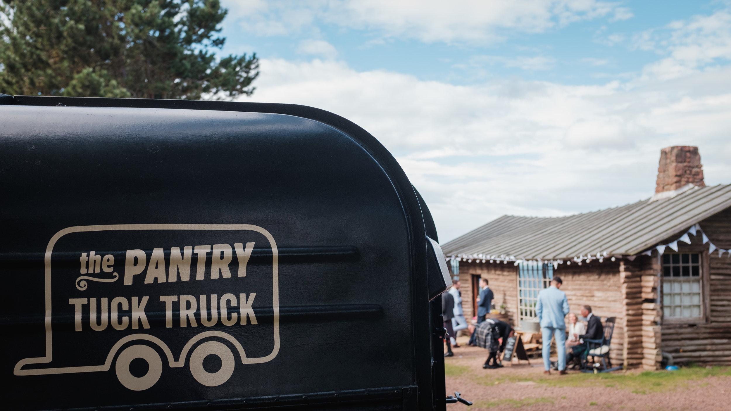 ian and ashley wedding tuck truck