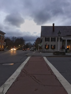 Evening Light in Woodstock, Vermont