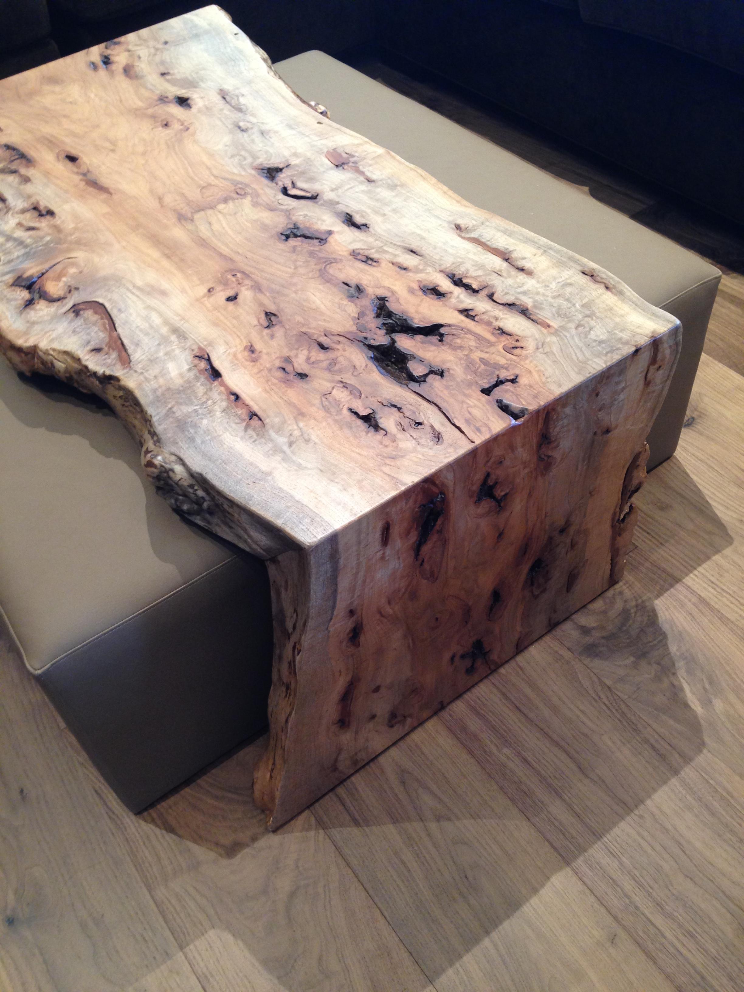 Pecan Burl Slab Miter Fold Coffee Table (1).JPG