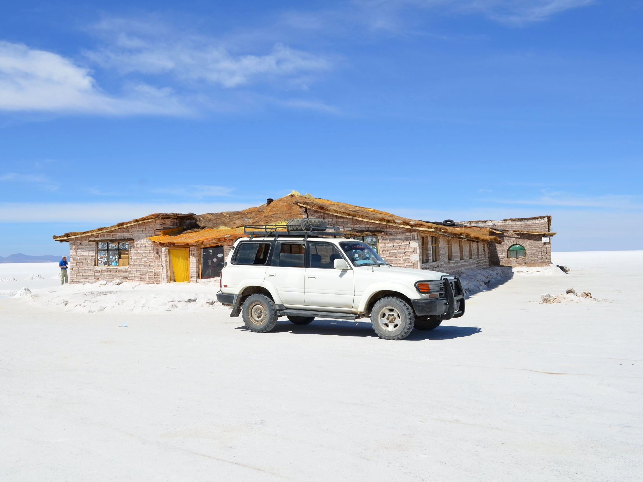 Landcruisers are the vehicles of choice by most tour agencies for their built like a tank and off road qualities.