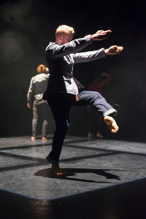 "Still from ""Maelstrom""  Choreography by Anna Kenrick  Tramway (Glasgow, UK)"