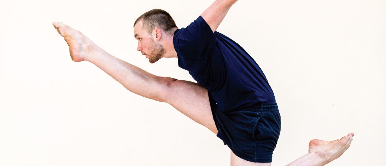Promotional photo for Dance Base (Edinburgh, UK)  Photo by Maria Falconer