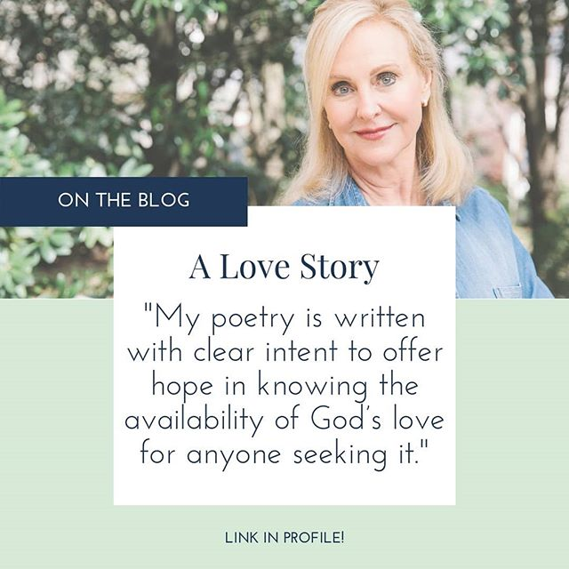 "All of my poetry is spiritual with a spiritual solution. Messages are written with clear intent to offer hope in knowing the availability of God's love for anyone seeking it. The relationship that I have discovered is with my Lord and Savior. It is a love story. 🙏🏻❤️ -Dr. Rhonda Milner ∙ Follow the link in profile to read Dr. Rhonda's poem ""A Love Story"" and @ / share with the love of your life! ❤️"