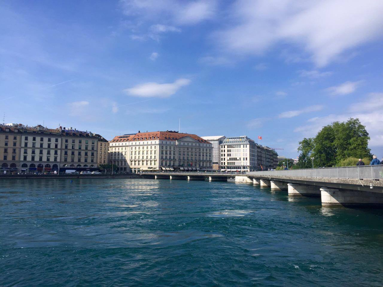 A view from the other side of Geneva.