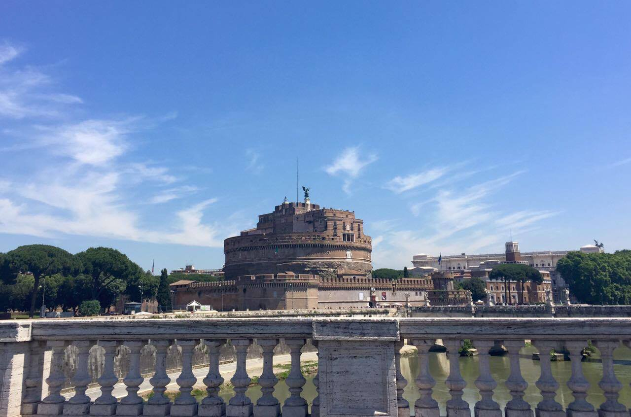 The Castel Sant'Angelo