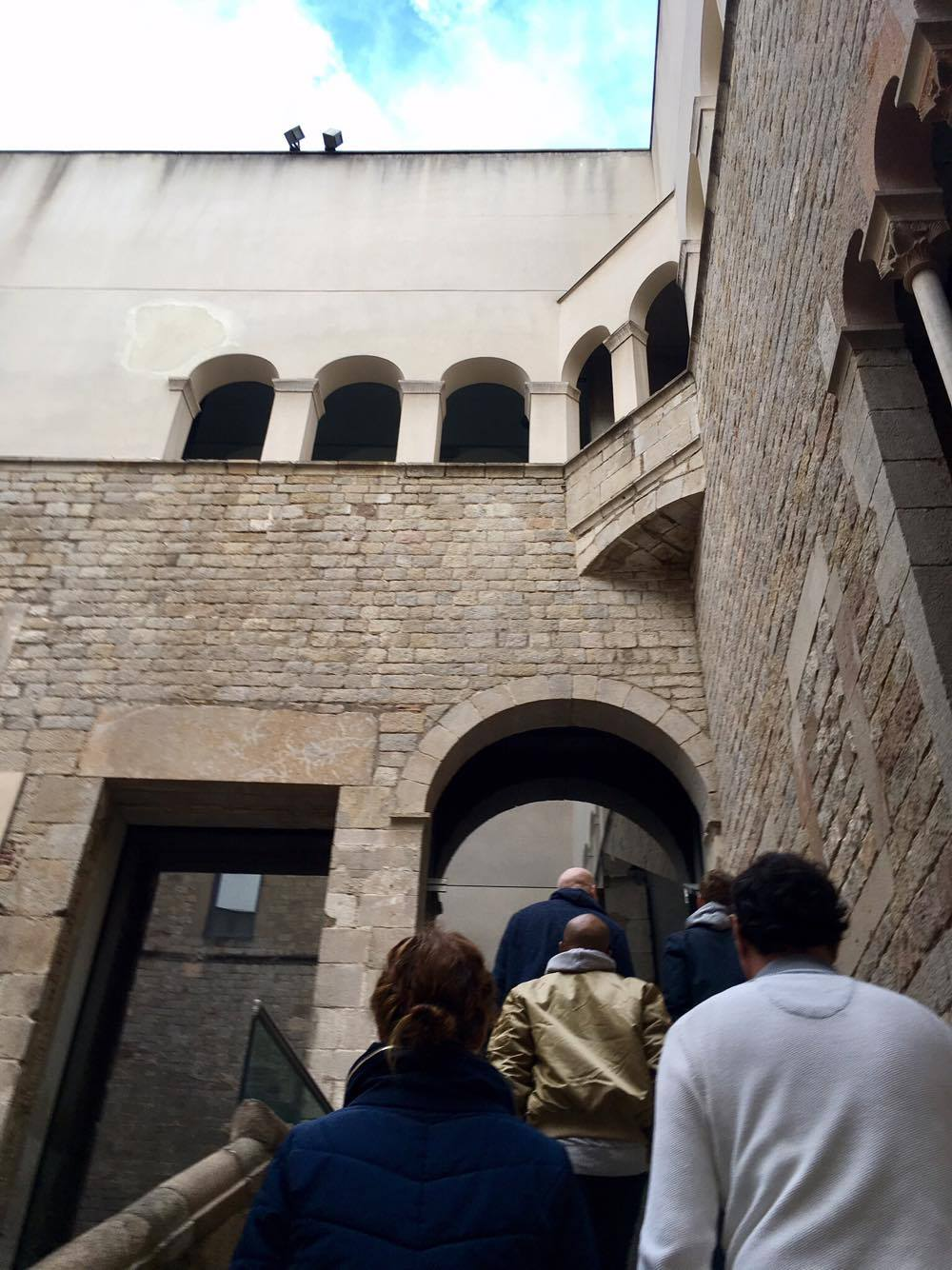 Entering the museum: online tickets may be best to avoid lines