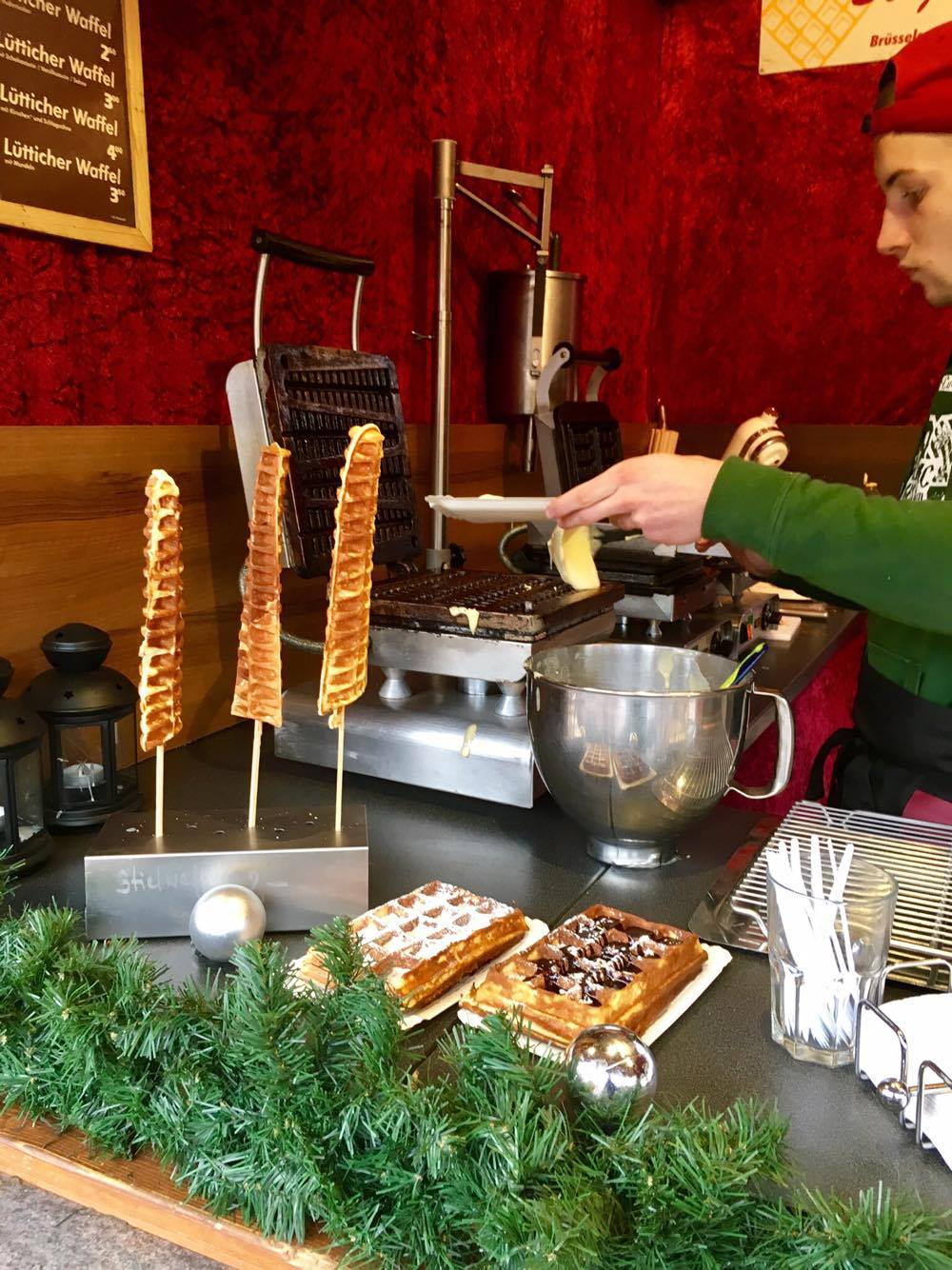 Waffles on a stick? Yes, please.