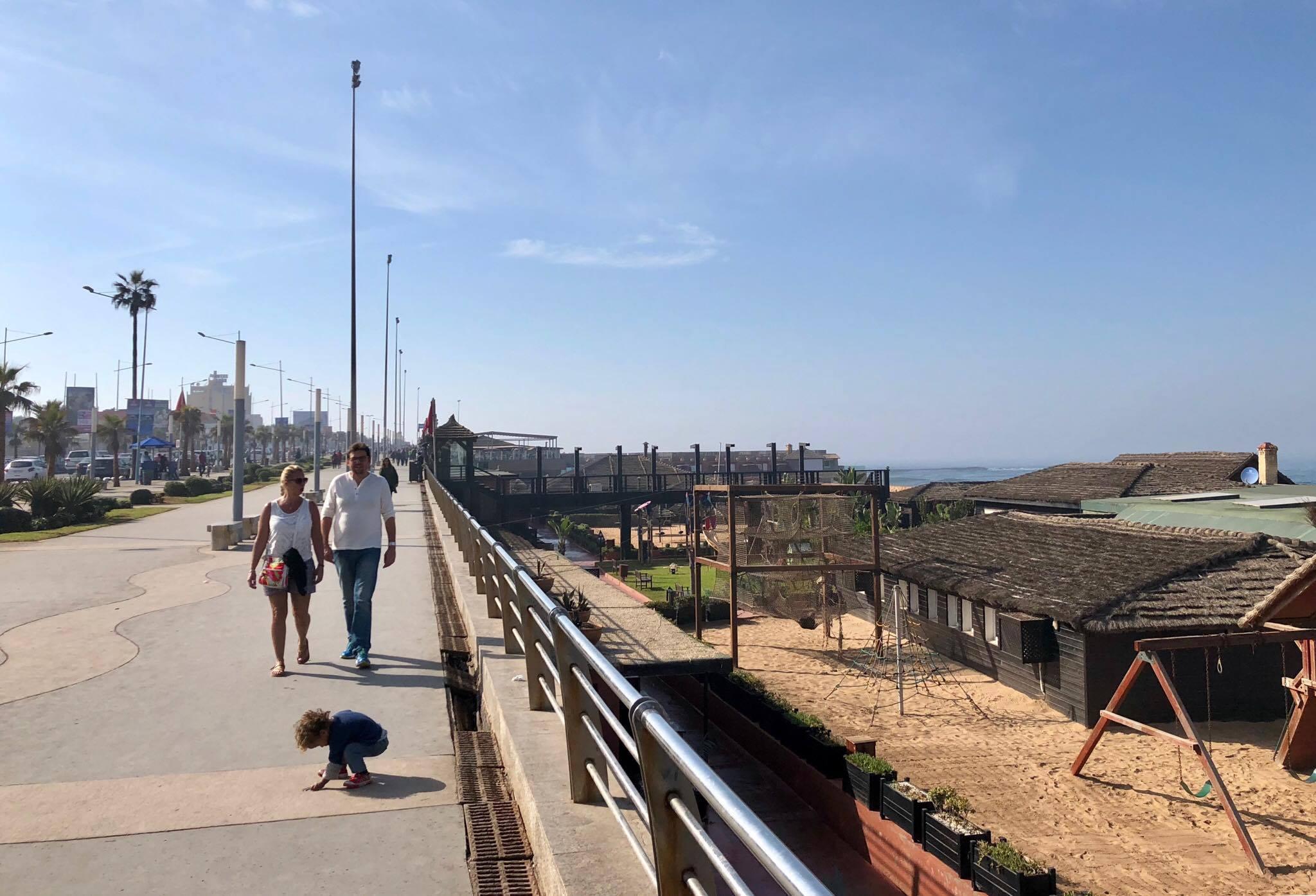 La Corniche - the main Boardwalk