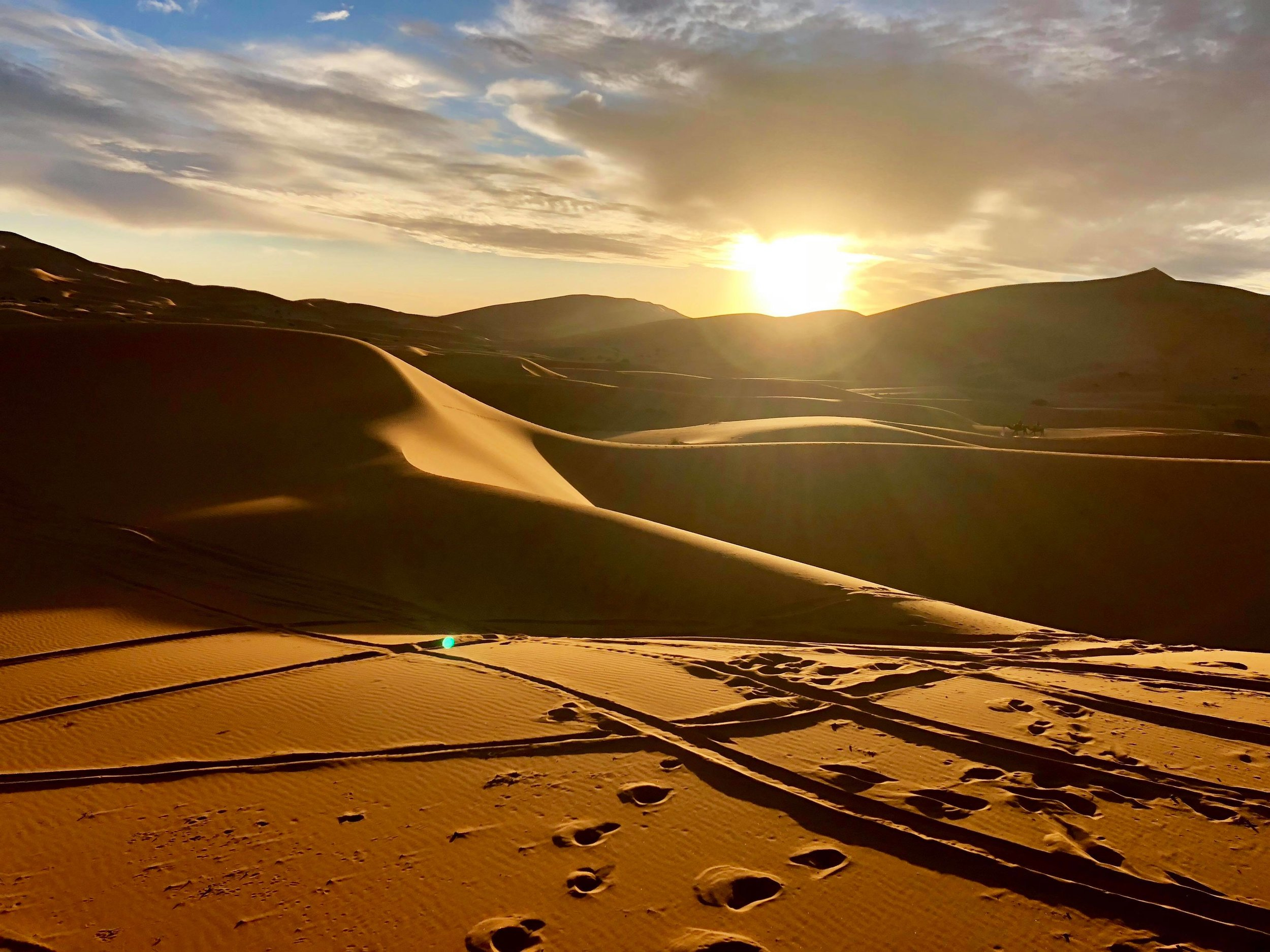 Traditionally a nomadic people. today the Berbers make up the majority of the population that inhabit the Sahara.