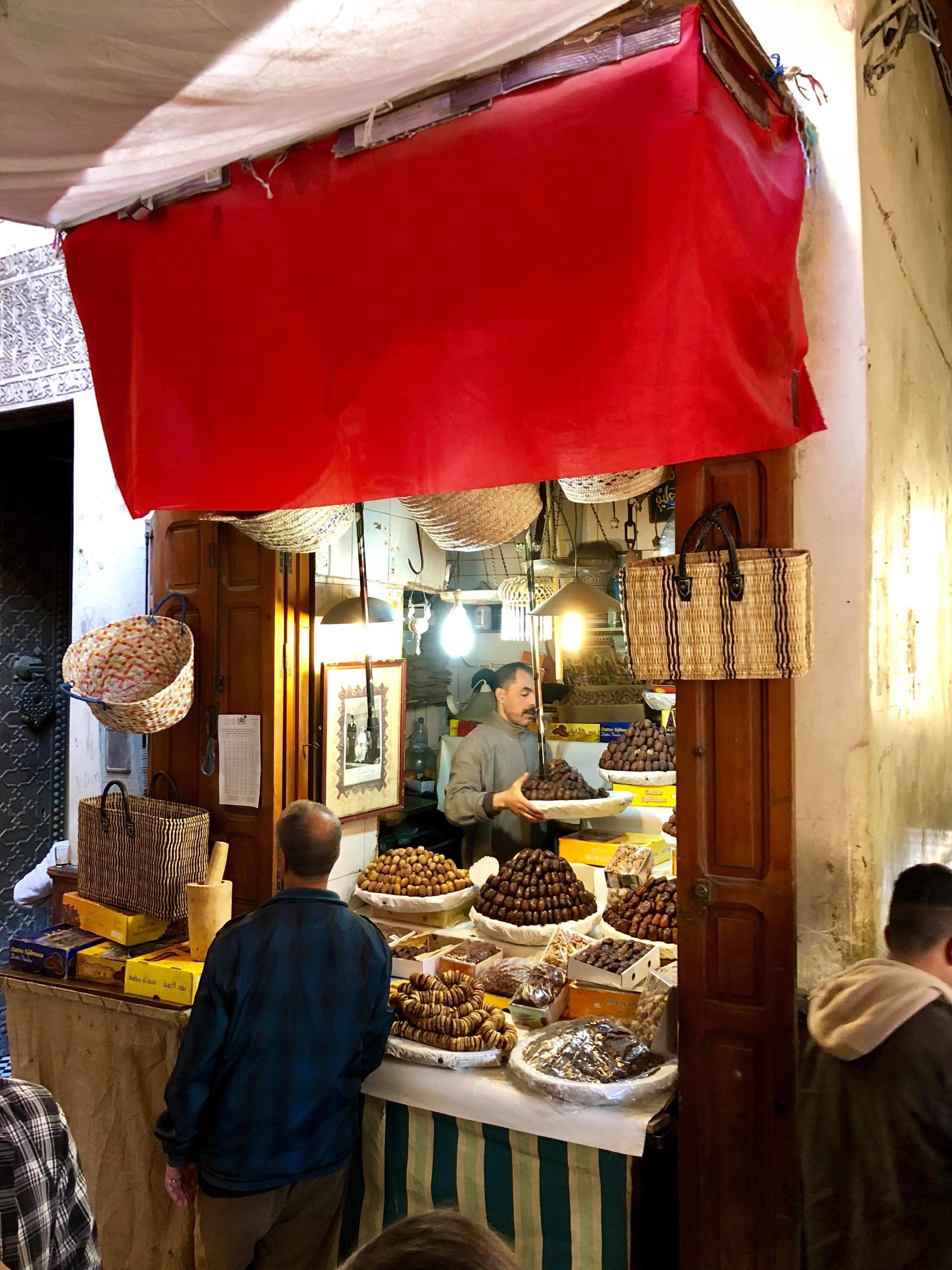 Walking through a Moroccan medina is like stepping back in time. It was hugely anachronistic for me to see the locals still using animals such as donkeys to transport their goods in the narrow streets.