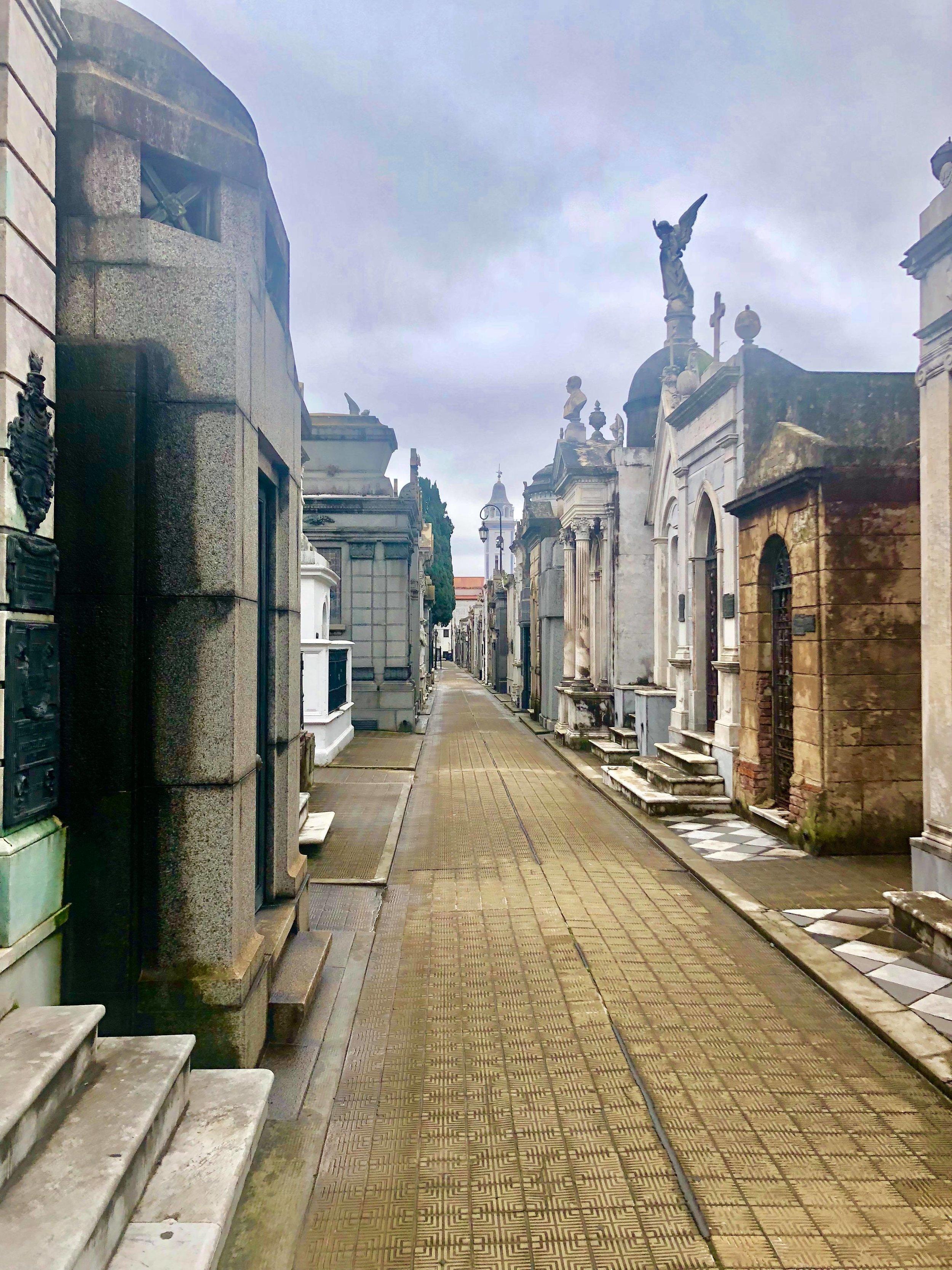 - Recoleta Cemetery