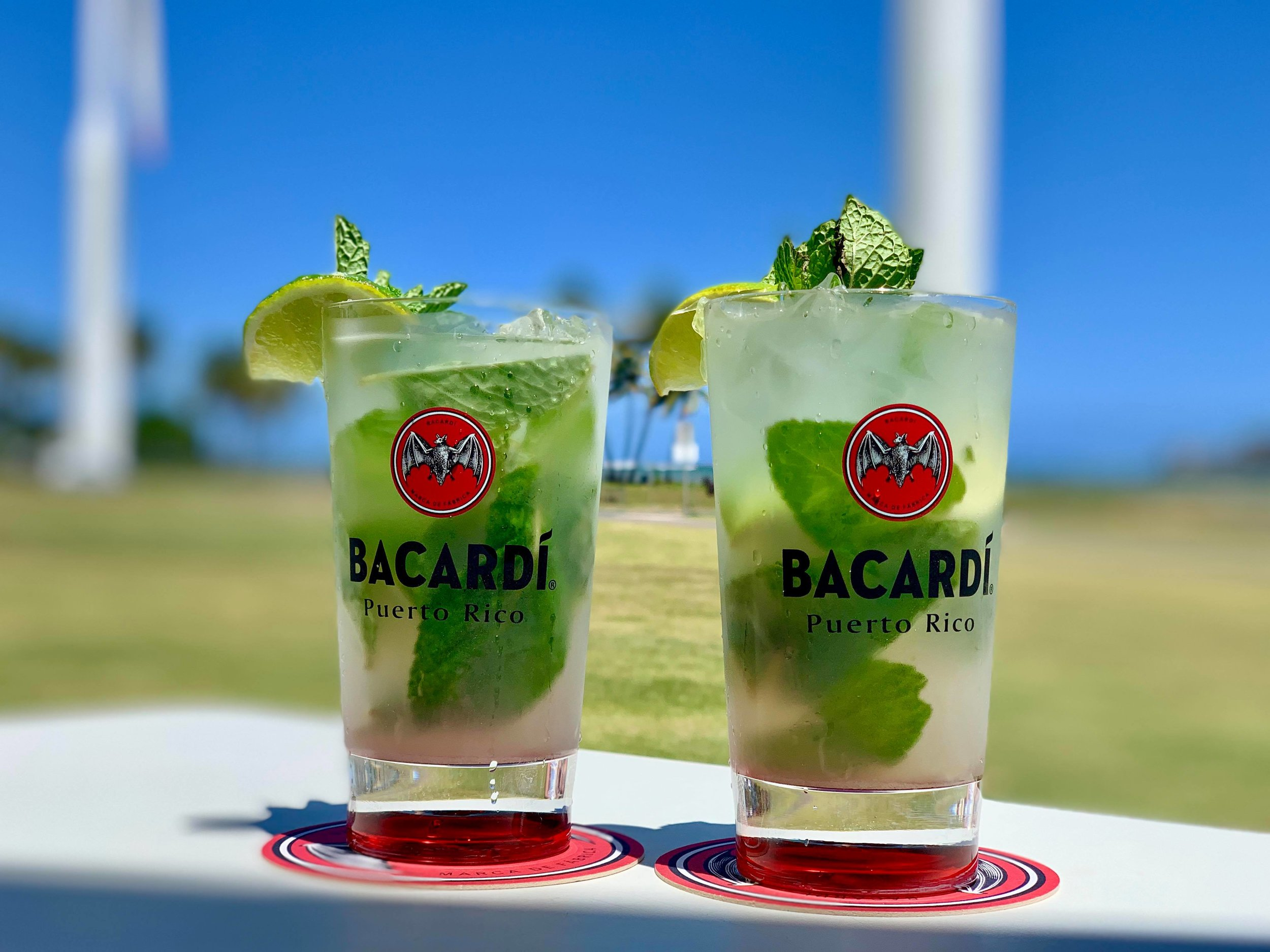 - What's a visit to a rum distillery without at least one mojito on the premises, right?