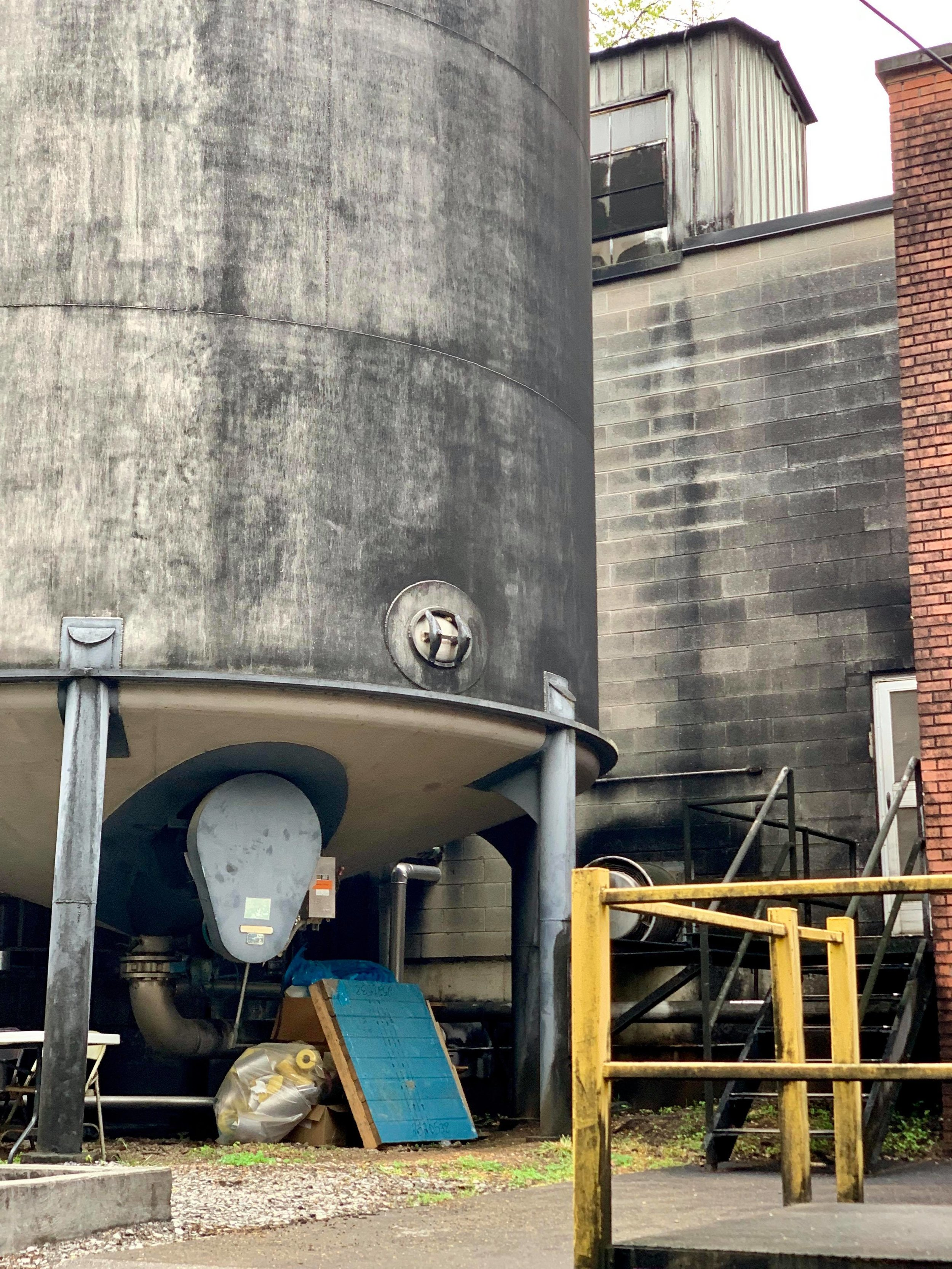 - Photos are prohibited on many parts of the tour, below is taken just outside their filtration and distillation facilities.