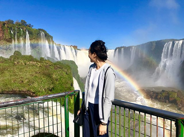 Never seen so many rainbows in one place 🇦🇷 🇧🇷 . . . . . . . . . . . . . . #travelinsider #LoveTheWorld #intrepid #intrepidtravel #CNNTravel #IAmATraveler #fodorsonthego #BBCTravel #LiveTravelChannel #TLPicks #naturalwonders #7naturalwondersoftheworld #iguassufalls #iguassu #iguazufalls #iguazu #iguazú #iguaçu #iguacu #iguacufalls #brazil #argentina #waterfalls #travel #travelphotography