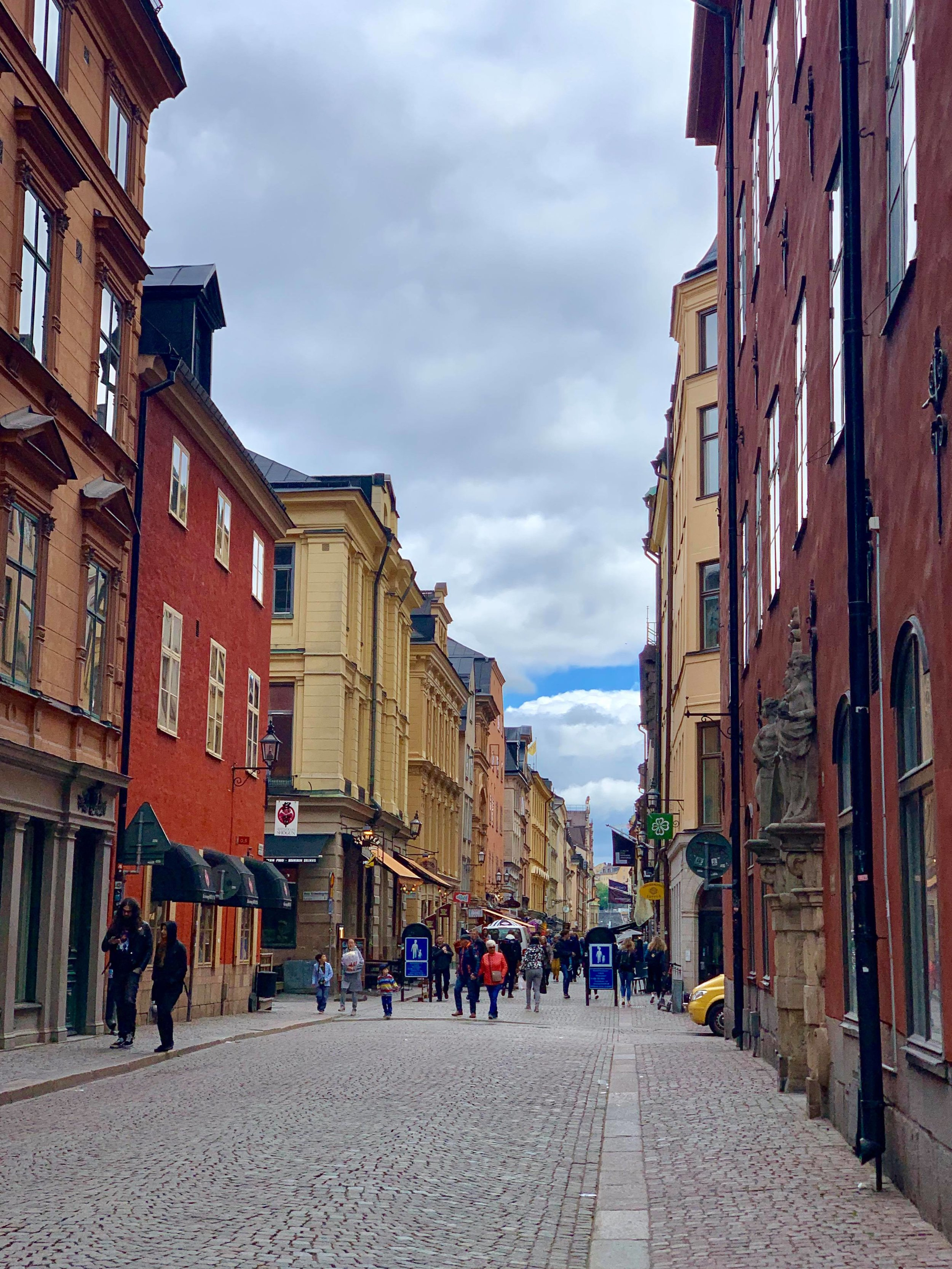 The old-town - Gamla stan has been standing since the 13th century, and today consists of medieval alleyways, cobbled streets, and archaic architecture. North German architecture has had a strong influence in the Old Town's construction.