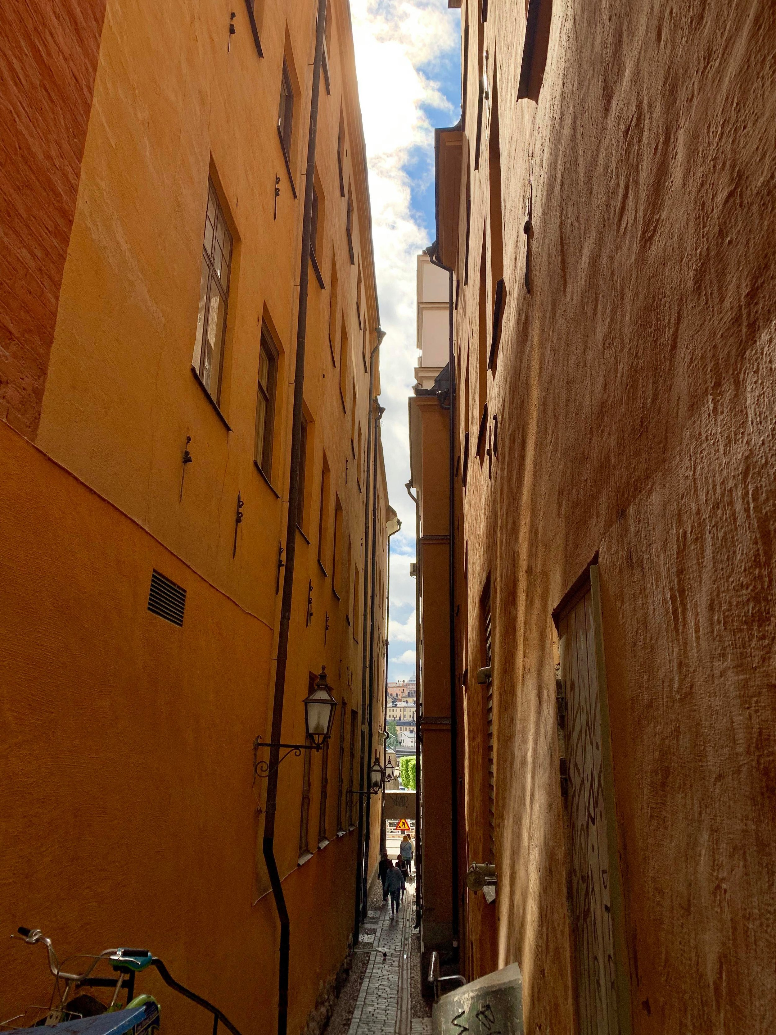 Aside from alleys… - Things to see in old town include: the Stockholm Cathedral, the Nobel Museum, the Riddarholm church, and Sweden's Royal Palace.