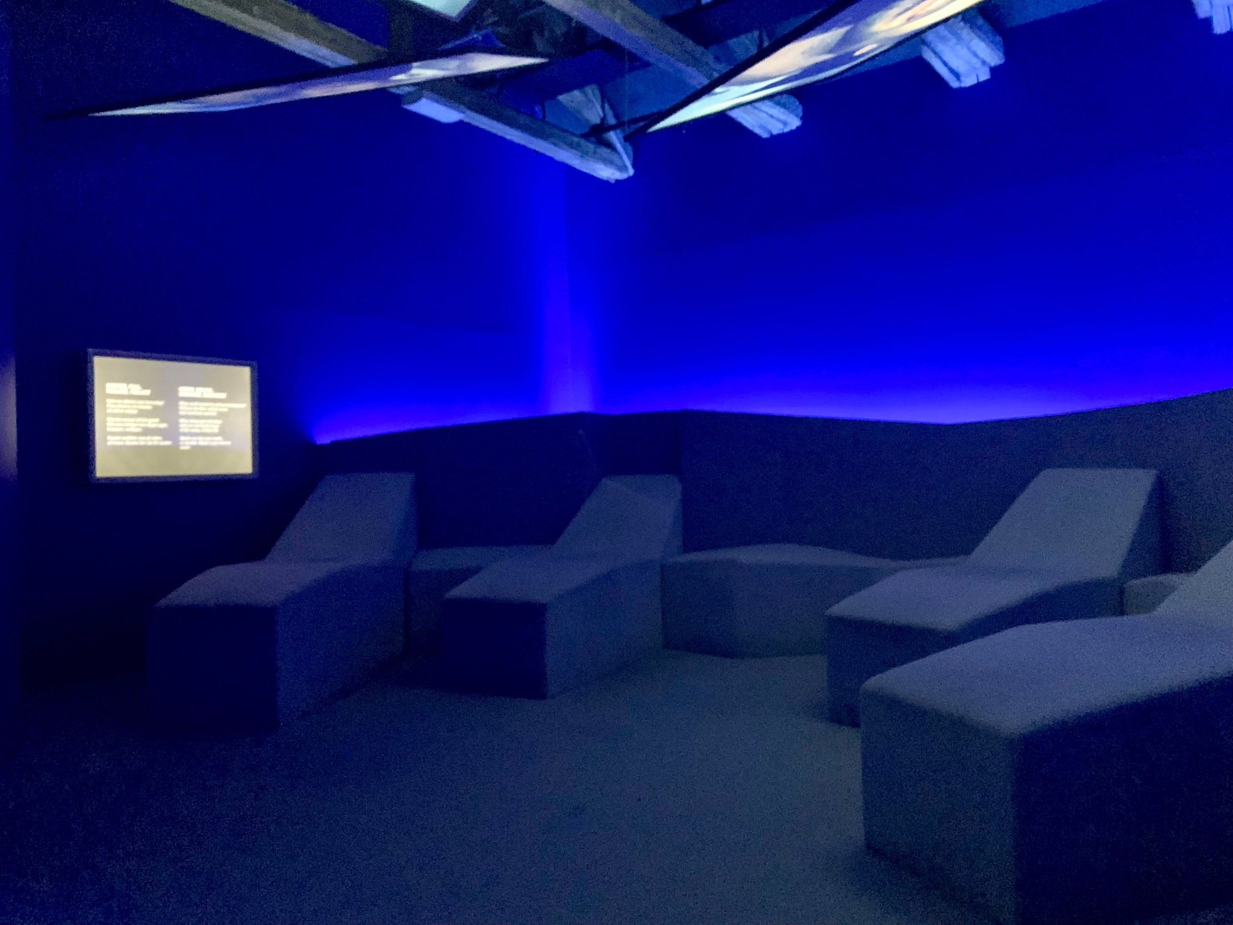 - 'Hangover experience room'