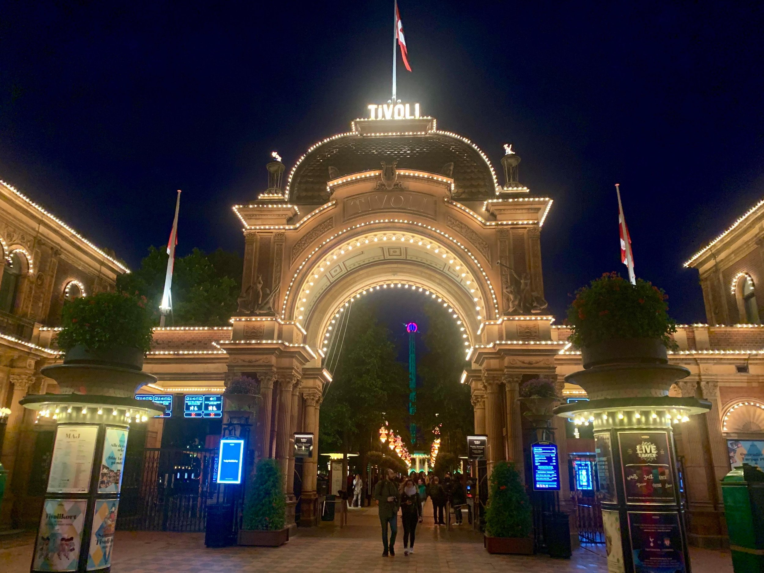 - One of the most popular places in the city for tourists and locals alike, Tivoli was a highlight of our time in Copenhagen, where if I may admit, I enjoyed the rides in perhaps a little too much for some one no longer in their teens.