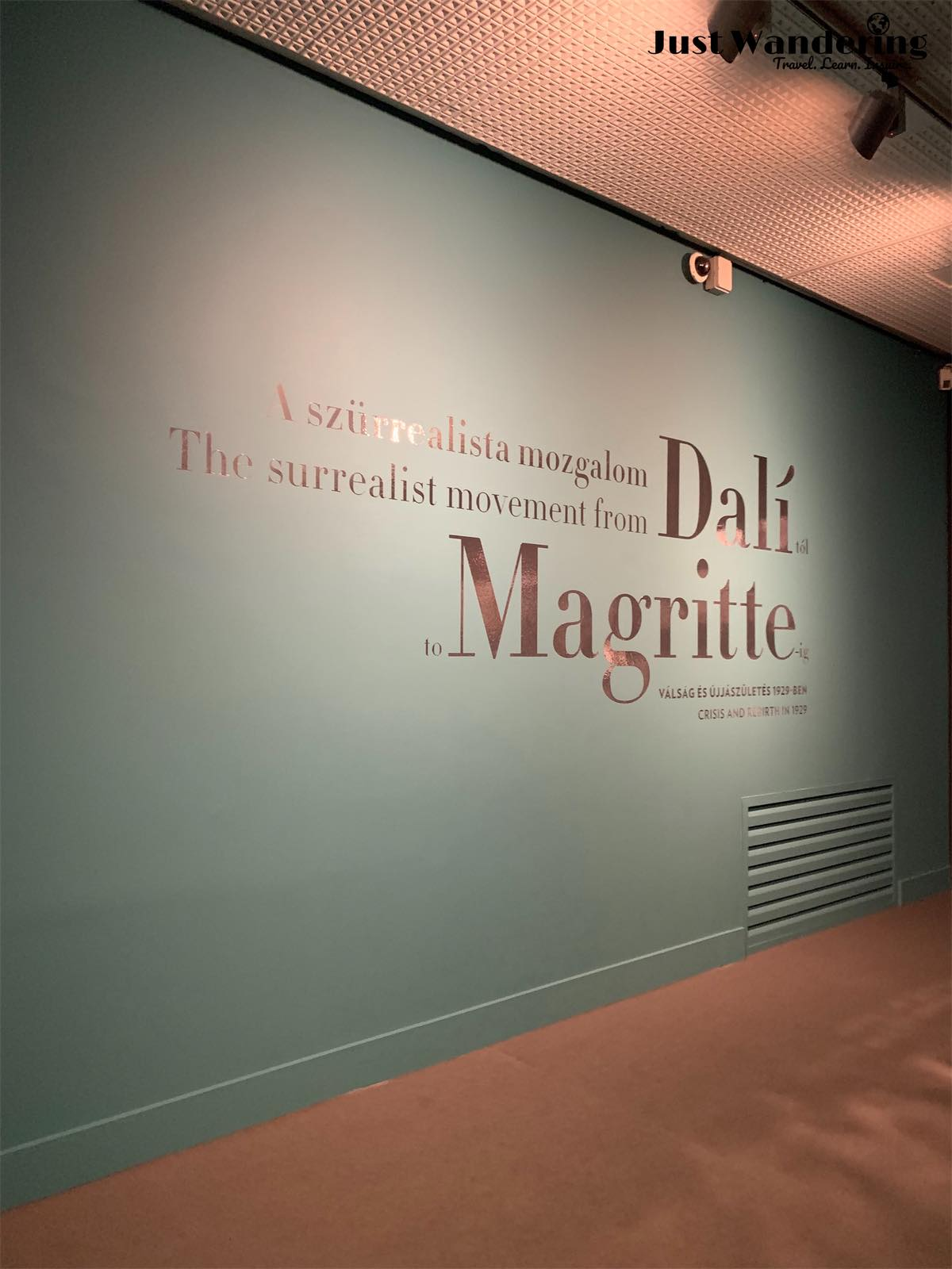 - Cognizant of time, but a big fan of Dali, I opted for a brief stroll through the temporary surrealist exhibit taking place at the museum instead.