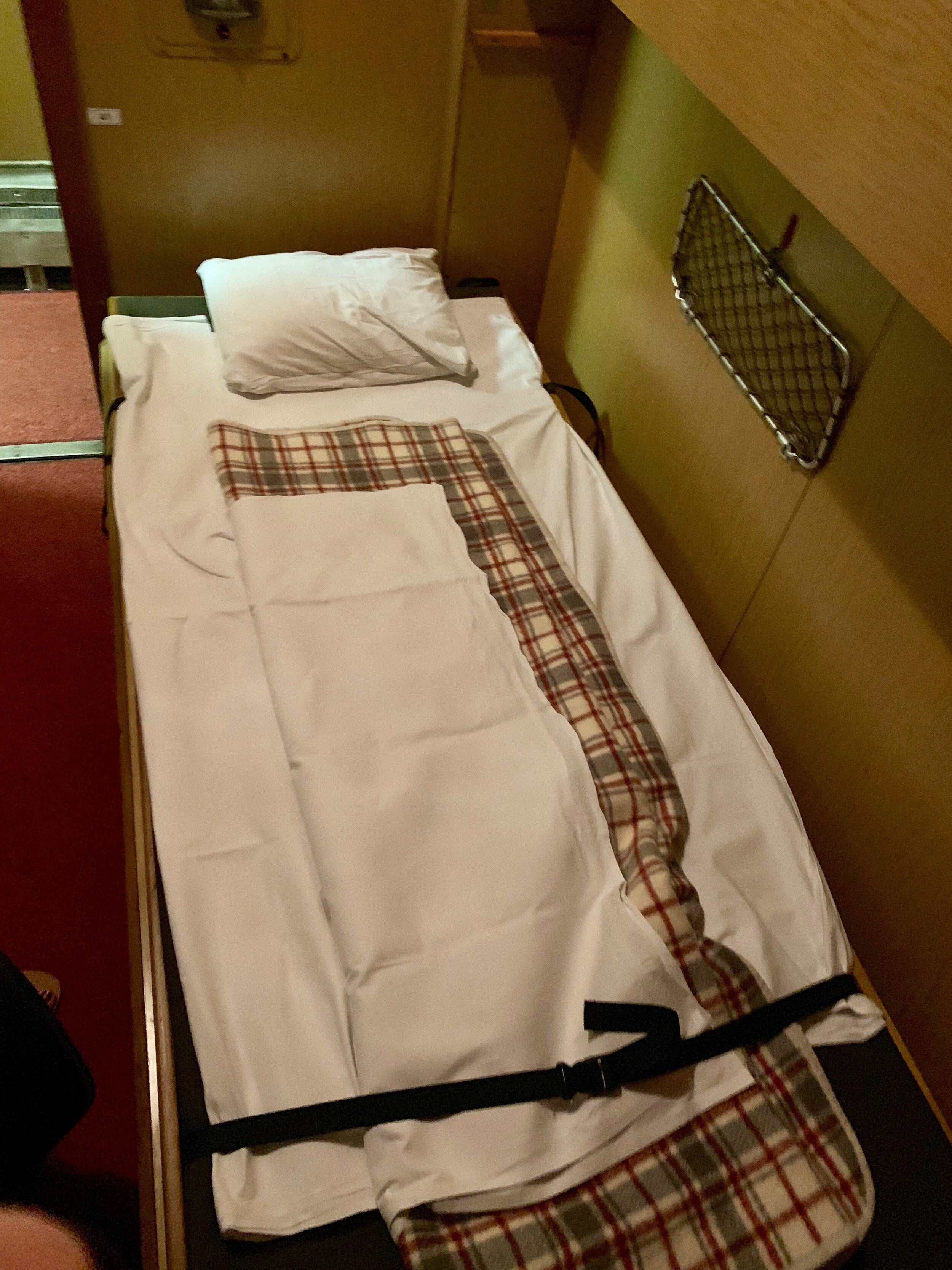 - Because there was a direct train to Micurea-Ciuc from Budapest, I ended up taking the overnight train there. Though I own private compartment (highly recommended, otherwise there are two more beds that can be converted above the one pictured here!), the ride was still a bumpy one and sleep escaped me for that night 😥