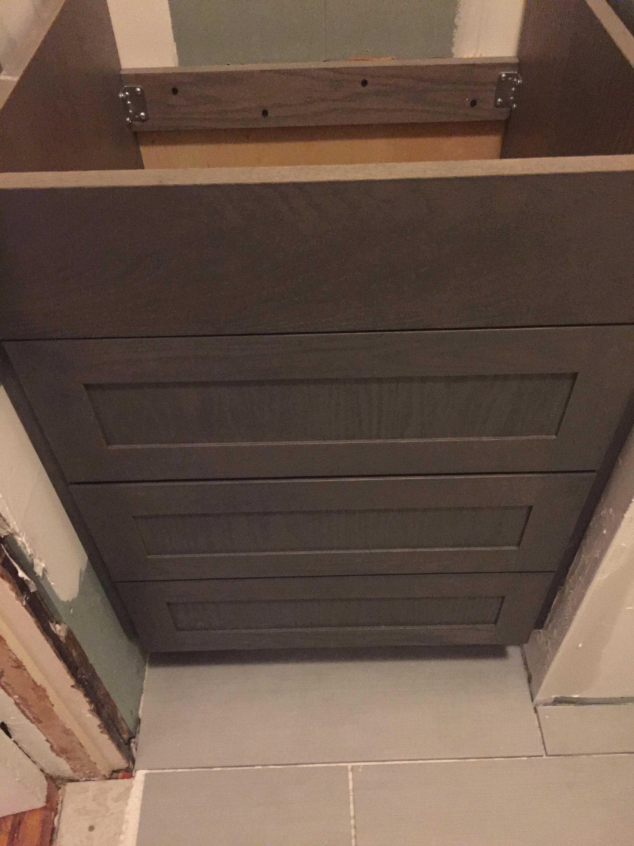 Vanity Cabinet (In Progress)