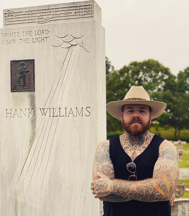 """""""And when I'm gone, and at my grave you stand, just say God's called home, your ramblin' man."""""""