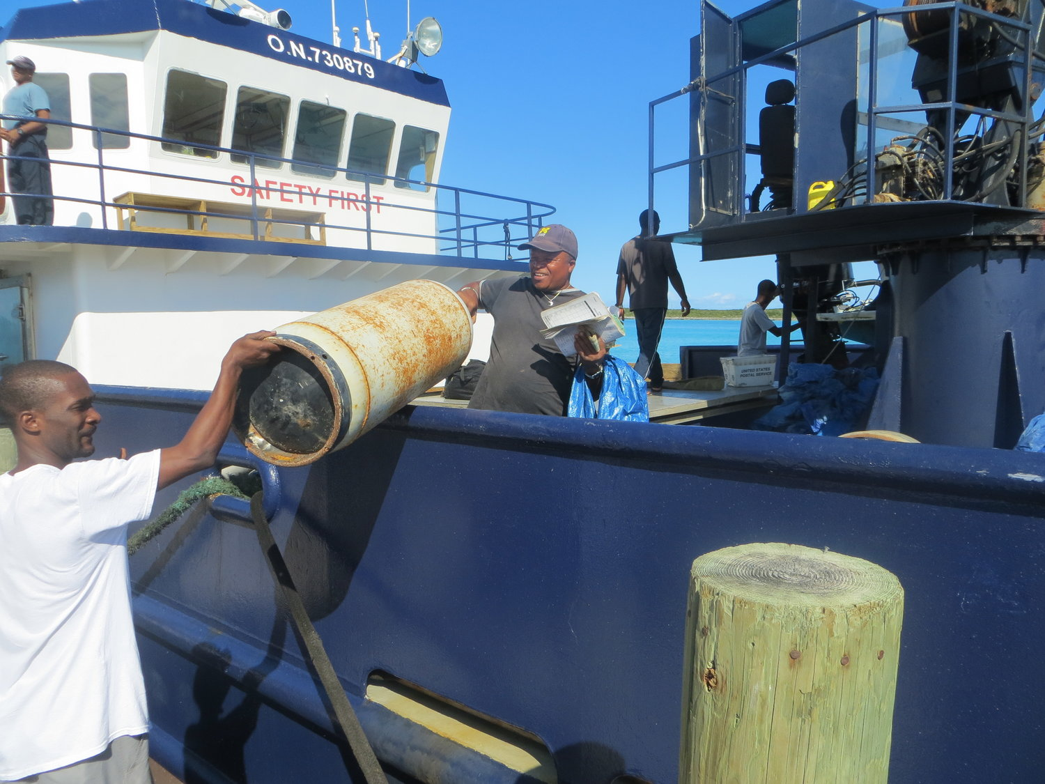 Riding Mailboats in the Bahamas - Four days on a mailboat to the most remote corner of the Bahamas: Ragged Island. Roads and Kingdoms, March 2016.