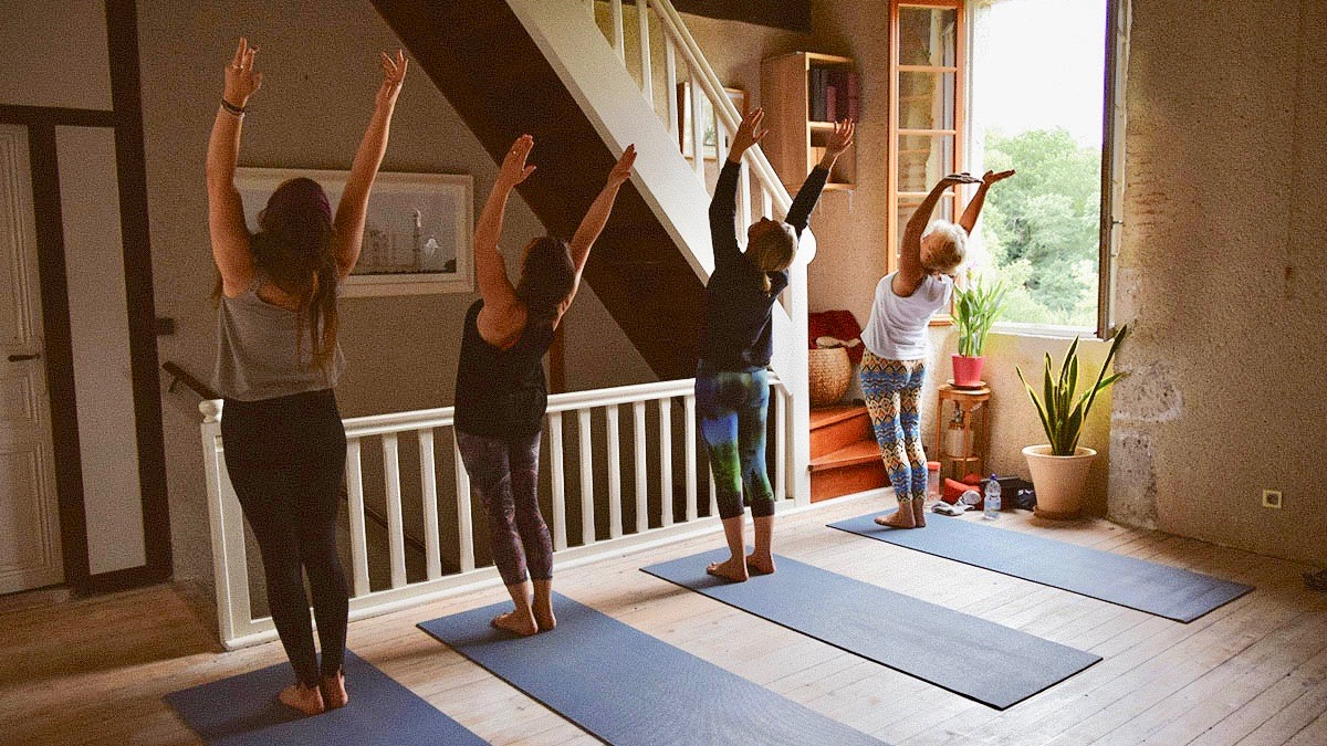 Beginners Yoga at Little French Retreat