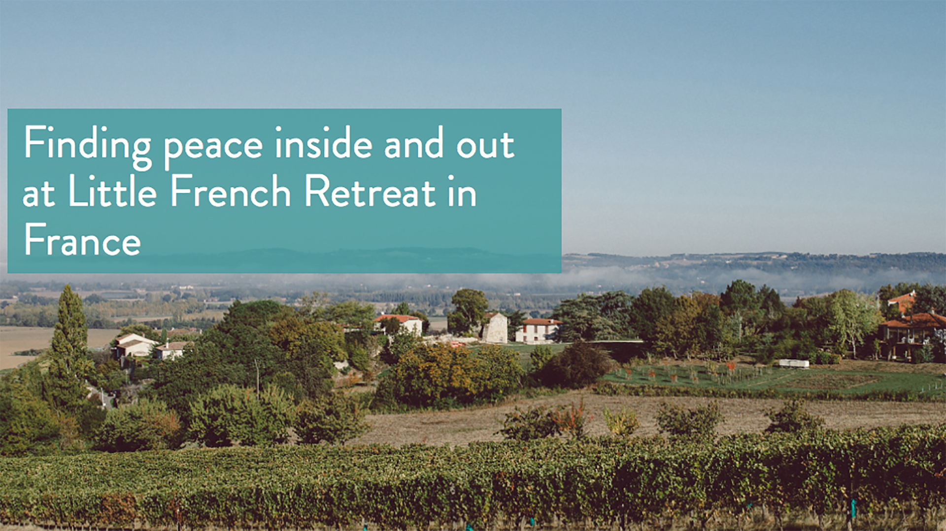 Queen of Retreats Review of Little French Retreat