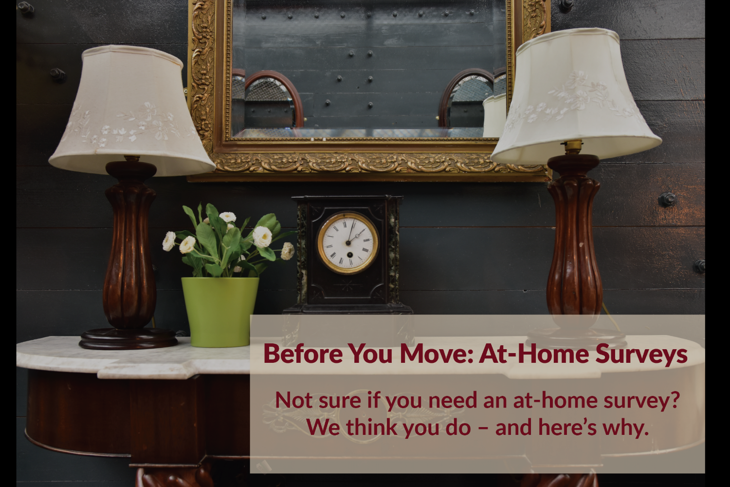 Before You Move: At-Home Surveys Blog Post. Chicagoland Northwest Indiana Moving Movers M