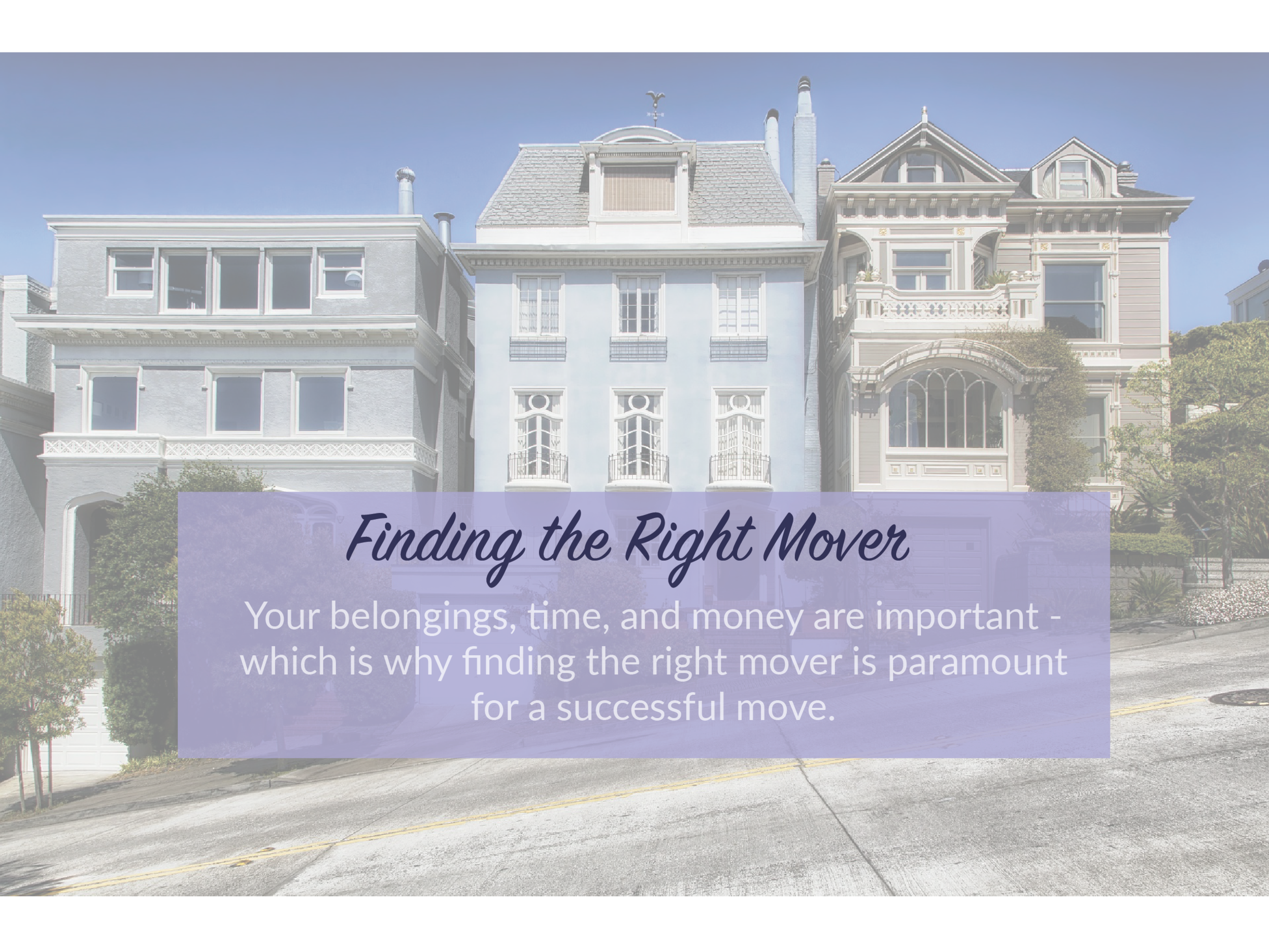 Before you move to a new home, you need to find the right mover to help with your move. Virgil Moves can help you find a qualified mover in your area.