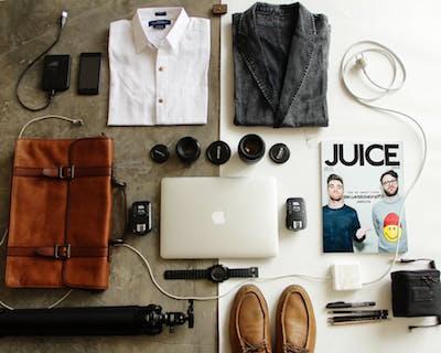 Overnight Bag essentials clothes bag shoes camera