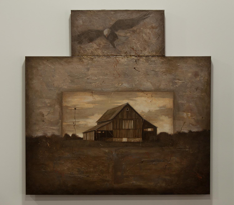 Aurelius / oil, 40 x 40